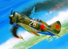 Polikarpov I-16 (Eduard box art)