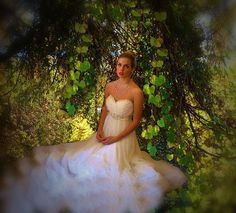 Nymph Bride in the Fairy Land Forest by Marilyn MacCrakin