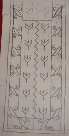 orangeykwhitebrowntunic-pattern.jpg 346×677 pixels