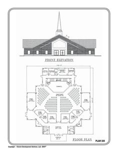 Church Building Plans Church Plan 134 Lth Steel