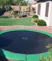 In Ground Trampolines Are Available At Yardillumination.com