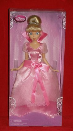 "Walt Disney Princess And The Frog CHARLOTTE 12"" H Poseable Barbie Size Doll NEW"