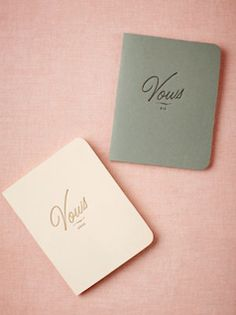 To keep forever, vow books