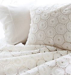 Graceful Circle Lace Cotton WIDE 140cm U2857 by SonSu on Etsy
