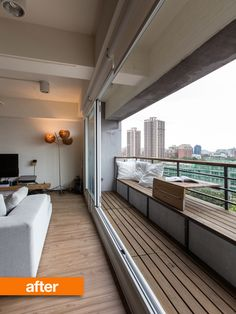 Before & After: A Room with a View in Taiwan Professional Project   Apartment Therapy