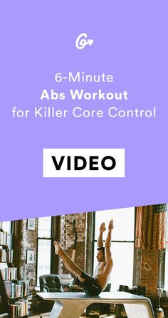 Put your core control to the test. #greatist https://greatist.com/fitness/abs-exercises-6-minute-core-challenge