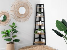 If you're searching for a shelving unit to fit every nook or cranny, then look no further than the Mocka Porto Corner Shelves - Black. Corner Storage Shelves, Storage Spaces, Home Office Furniture, Living Room Furniture, Black Corner Shelf, Baby Nursery Furniture, Deep Shelves, Room Corner, Porto