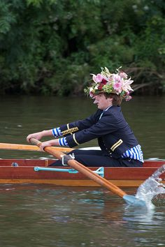 Eton College Procession of Boats. by Mark Draisey
