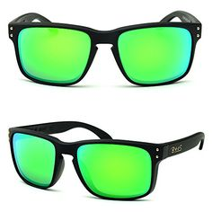 66f444a1a24 Good  39.99 BNUS Sunglasses Shades for men women green mirrored lenses ( Black Rubber Green