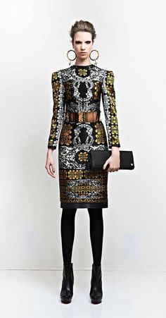 Baroque Sophistication Catalogs - The Dora Abodi Autumn/Winter 2014 Collection is Cultured (GALLERY) Baroque Fashion, High Fashion, Womens Fashion, Fashion Tips, Fashion Design, Fashion Trends, Fashion 2014, Fashion History, Manish Arora