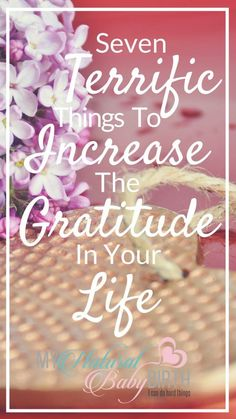 Seven Terrific Things To Increase The Gratitude In Your Life