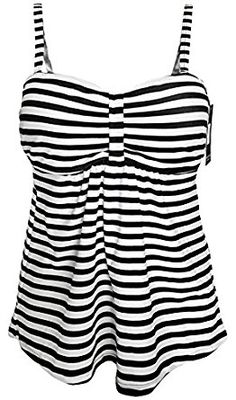 New Gabrielle-Aug Women's Fashion Swimsuit Tankini Top Swim Beach Conservative Retro Swimwear(FBA) online. Find the perfect Beauty Music Swimsuit from top store. Women's Swimsuits & Cover Ups, Tankini Swimsuits For Women, Modest Swimsuits, Women's One Piece Swimsuits, Tankini Top, Retro Swimwear, Black Women Fashion, Women's Fashion, Vestidos