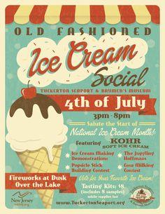 designs flyers ice cream shop - Google Search