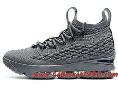the best attitude edfb6 9a002 Nike LeBron 15 XV Chaussures Nike Basketball Pas Cher Pour Homme Gris