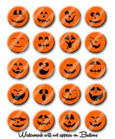 JackOLantern Pumpkin Face Halloween Theme by PutOnYourPartyCap