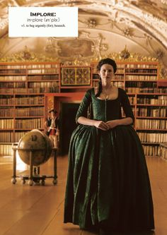 "Claire Fraser (Caitriona Balfe) in Episode 207 ""Faith"" of Outlander Season Two on Starz"