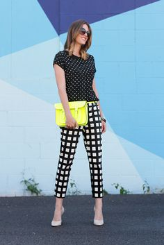 What I Wore: Neutrals & Neon, Jessica Quirk, kate spade, whatiwore.tumblr.com