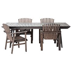 $648.96 SUNDERÖ Table and 4 chairs - IKEA
