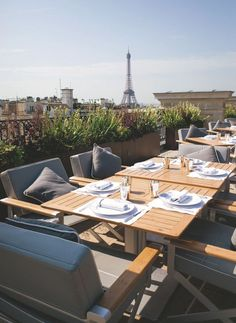 Restaurant l'oiseau blanc du Peninsula Paris - Côté Maison