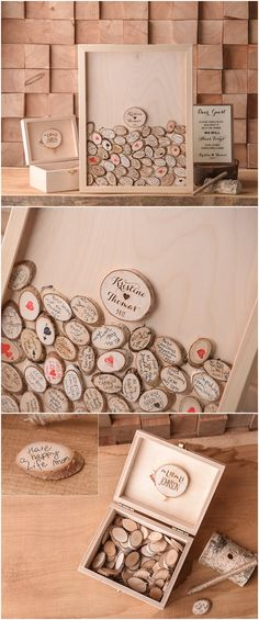 Rustic country wooden wedding guest book #weddings #countryweddings #rusticweddings #weddingideas
