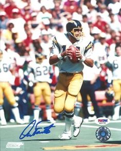 Dan Fouts Autographed San Diego Chargers 8x10 Photo PSA/DNA . $29.00. This is an 8x10 Photo that has been hand signed by Dan Fouts. The autograph has been certified authentic by PSA/DNA and comes with their sticker and matching certificate.