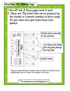 I hope you like this freebie and will check out my other freebies and packets! Kindergarten Crayons, School Age Activities, Small Spa, First Grade Science, Teacher Notebook, Growing Seeds, Math Resources, Lima, School Stuff