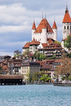 ~Thun's old town, Switzerland (via Interlaken-Pure Switzerland)~. Places Around The World, Oh The Places You'll Go, Travel Around The World, Places To Travel, Places To Visit, Around The Worlds, Wonderful Places, Great Places, Beautiful Places