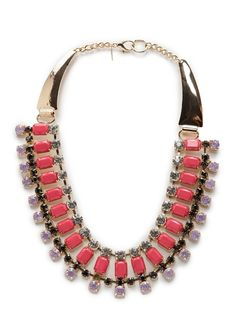 TOUCH - Kristallverzierte Halskette