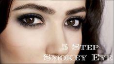 Dramatic Smokey Eye | 5 Steps | Makeup Tutorial