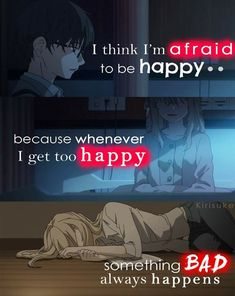 Anime:Shigatsu wa kimi no uso Credits to kiris Sad Anime Quotes, Manga Quotes, True Quotes, Words Quotes, Sayings, Anime Depression, Your Lie In April, Dark Quotes, A Silent Voice