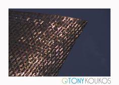 metal, crosshatch, geometric, light, angles, modern, art, photography, travel, Tony Koukos, Koukos
