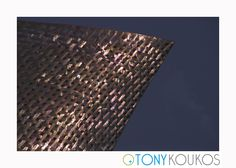 metal, crosshatch, geometric, light, angles, modern, art, photography, travel, Tony Koukos, Koukos
