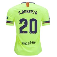3b6383f44 Barcelona 18 19 Away Men Soccer Jersey Personalized Name and Number