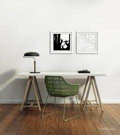 Fotografias en blanco y negro - Fine Art Print black and white 20x20cm - hecho a mano en DaWanda.es