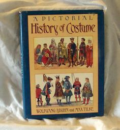 Sale A pictorial History of Costume Costume Book by RTFX on Etsy