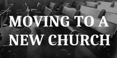 How To Make Yourself At Home At A New Church