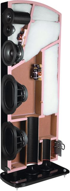 Anatomy of Polk LSi M Speakers -- ever wondered what was inside one of these speakers? So did we.