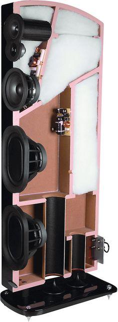 Anatomy of Polk LSi M Speakers -- ever wondered what was inside one of these speakers? So did we. #PolkAudio #Speaker