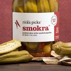 Rick's Picks Smokra, $17 | 31 Best Food Gifts Under $20 smoked okra for mom