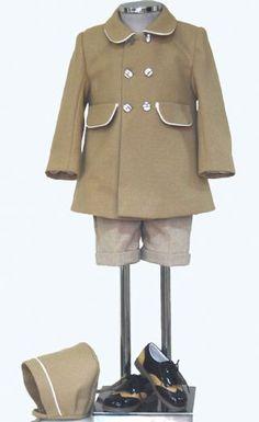 Abrigo corto de niño. varios colores. Mod.chico
