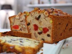 Budín inglés de frutas Cake Cookies, Cupcake Cakes, Fruit Juice Recipes, Pistachio Cake, Bowl Cake, Spanish Dishes, Plum Cake, British Baking, Pan Dulce