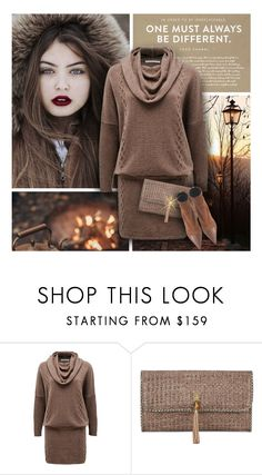 """""""Brown Shades for Fall"""" by debraelizabeth ❤ liked on Polyvore featuring Emu, Heidi Klein and Balmain"""