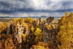 Bastei Bridge - Lohmen, Alemanha