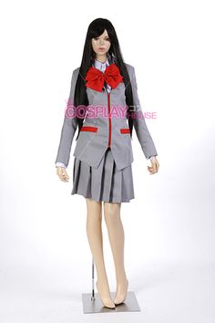 Bleach - Karakura High School - Female Uniform Cosplay Costume Version 02, $89.95