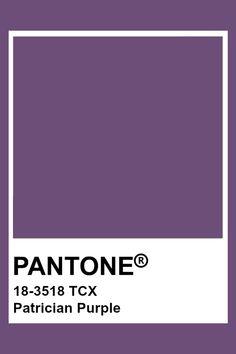 Pantone Color Guide, Pantone Color Chart, Pantone Colour Palettes, Pantone Tcx, Pantone Swatches, Color Swatches, Purple Names, Colour Board, Purple Aesthetic