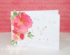 "#Altenew ""Watercolor Wonder"" | DISTRESS INKS - Tattered Rose/ Worn Lipstick/ Festive Berries/ Mustard Seed/ Shabby Shutters/ Peeled Paint (6.4.16)"