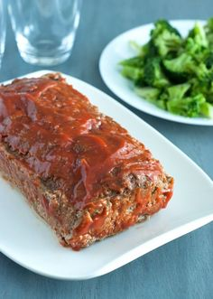 The BEST Low Carb Meatloaf EVER - Melt in your mouth tasty!
