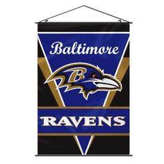 Man Cave Wall Banner - Baltimore Ravens