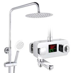 94.35$  Buy here - http://aliyf8.worldwells.pw/go.php?t=32767482915 - Thermostatic shower faucet shower head set,Bathroom shower faucet thermostatic mixing valve, Temperature sensitive shower faucet 94.35$