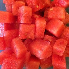 Dices of watermelon. By Jessica, www.teuko.com